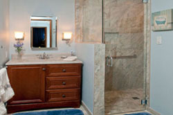 Click here to see photos of a bath remodel!